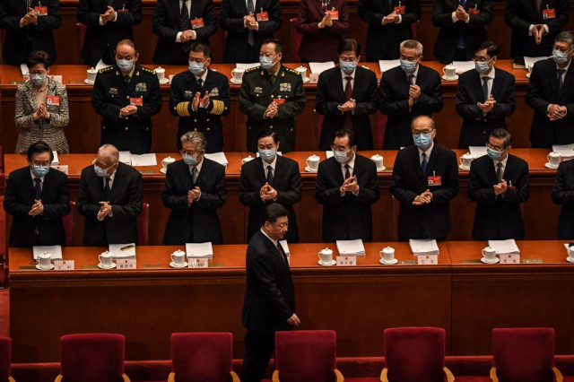 China's parliament opens with focus on Hong Kong democracy