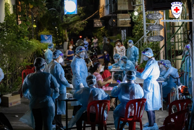 Community Outbreak Continues to Spread Across Cambodia