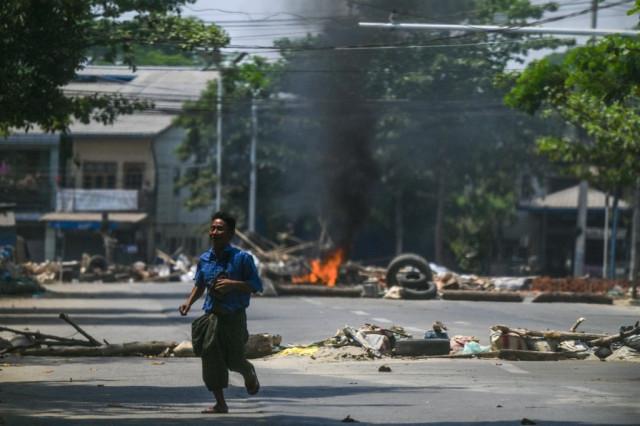 Myanmar forces target railway workers over anti-coup strike