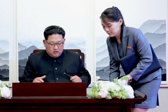 N. Korean leader's sister warns US as Biden envoys begin Asia trip