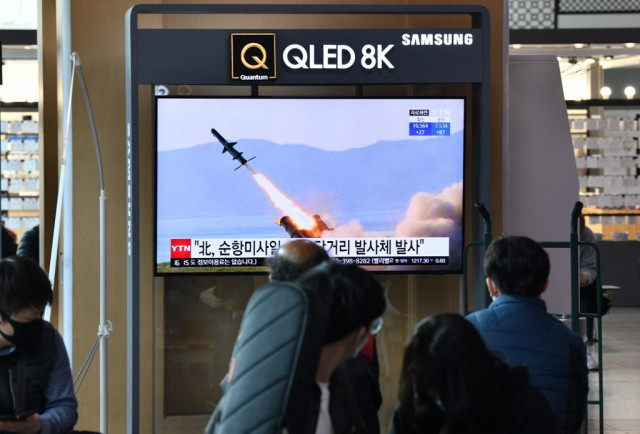 N. Korea fired two missiles in first test under Biden: US, South