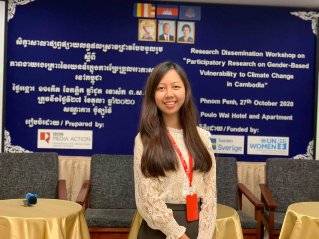 Global Warming: the Need to Take the Information to Cambodians Affected