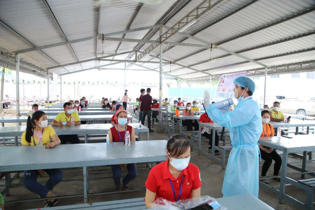 Garment Workers Vaccination Centers Expanded