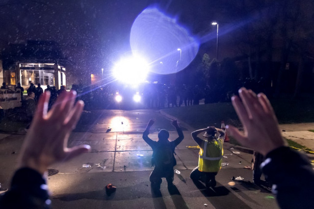 US police shooting of Black man in Minneapolis sparks fresh protests