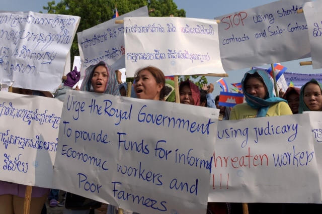 Trade Unions and Civil Society Ask PM Hun Sen's Support for Workers