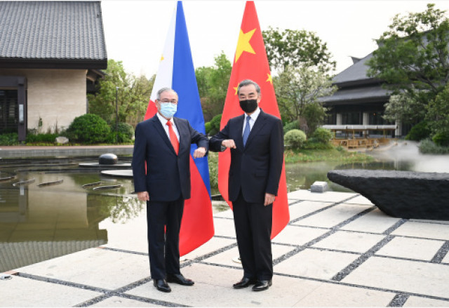 China urges Philippines to respect China's sovereignty over Huangyan Island
