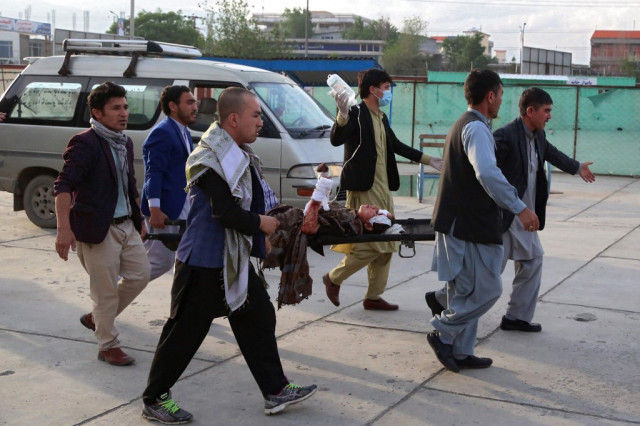 Death toll rises to 50 from blasts near Afghan girls school