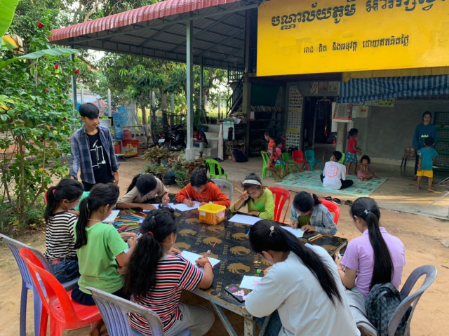 Village Library Project Aims to Provide Free Reading for Children amid Pandemic