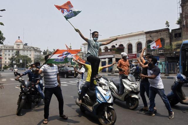 Indian state orders lockdown after 'super-spreader' election