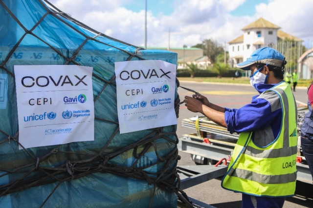 UNICEF says rich countries can afford to donate Covax jabs