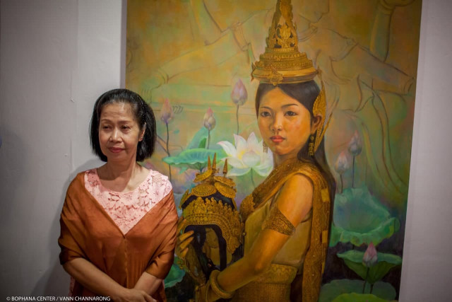 A 1960s' Star Dancer Who Helped Revive Khmer Classical Dance in the 1980s and 1990s Passes Away