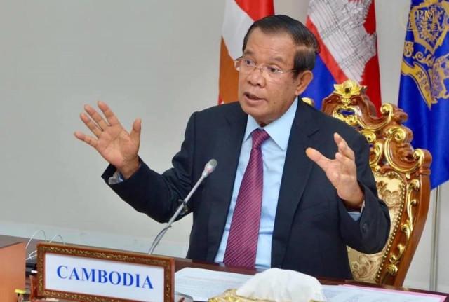 Hun Sen Rejects Criticism of Dependence on Beijing