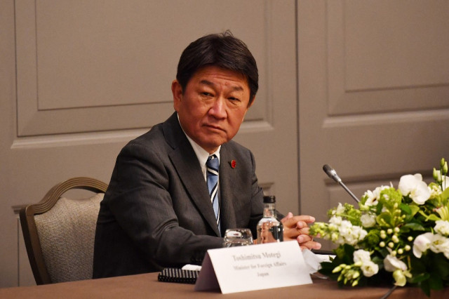 Japan could freeze all Myanmar aid, foreign minister warns