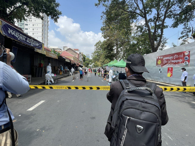 COVID-19 Press Coverage in Cambodia Faced with Limited Access to Facts and Places, Reporters Say