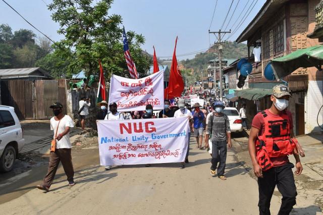 Myanmar shadow govt says allying with rebels to 'demolish' junta