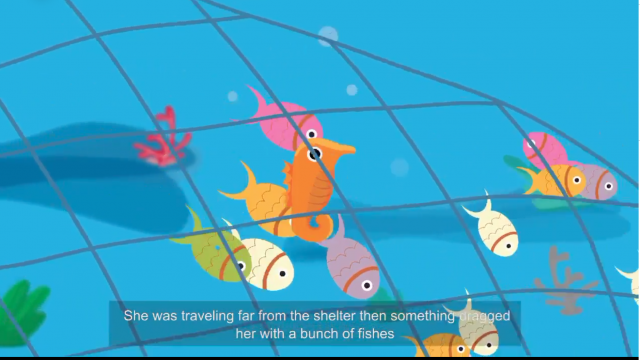 Youth Group Engage Children on Marine Biodiversity with Animations