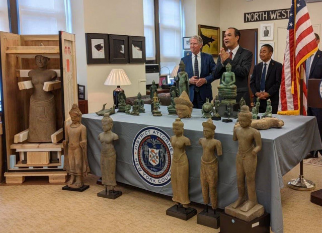 Cambodian Trafficked Antiquities Return Home