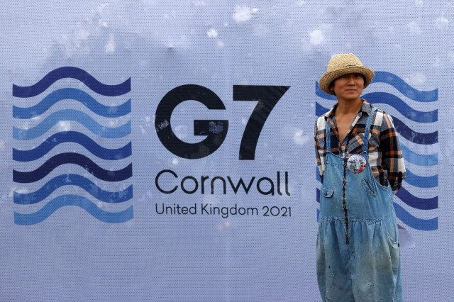 G7 to provide 1 bn Covid vaccine doses 'to world': UK