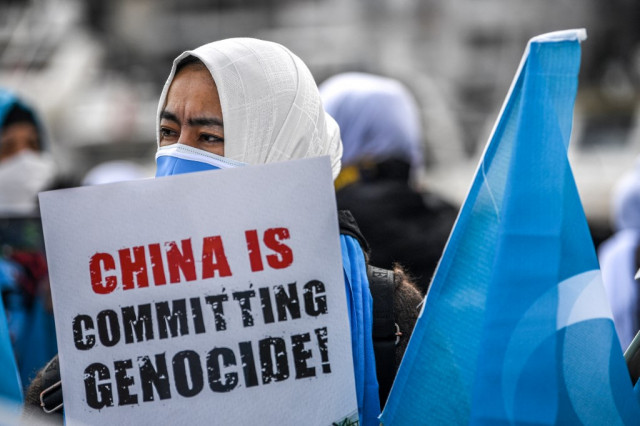 Amnesty terms Chinese Uyghur abuses 'crimes against humanity'