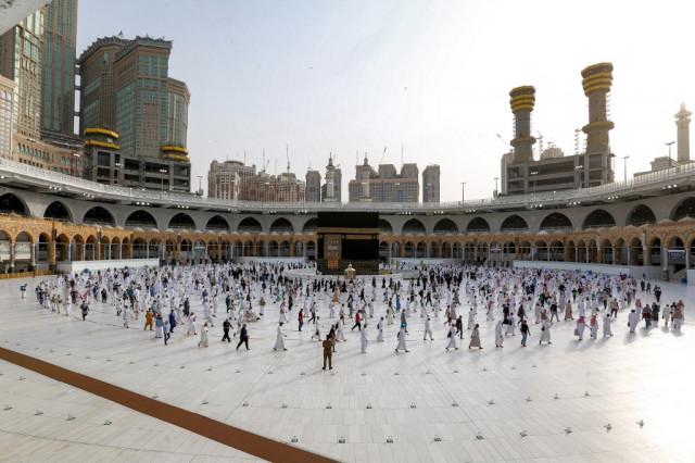 Saudi allows 60,000 vaccinated residents on hajj, bars foreigners again