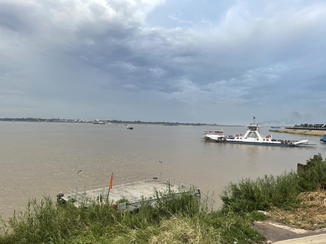 Lower Mekong Water Levels Rise Significantly