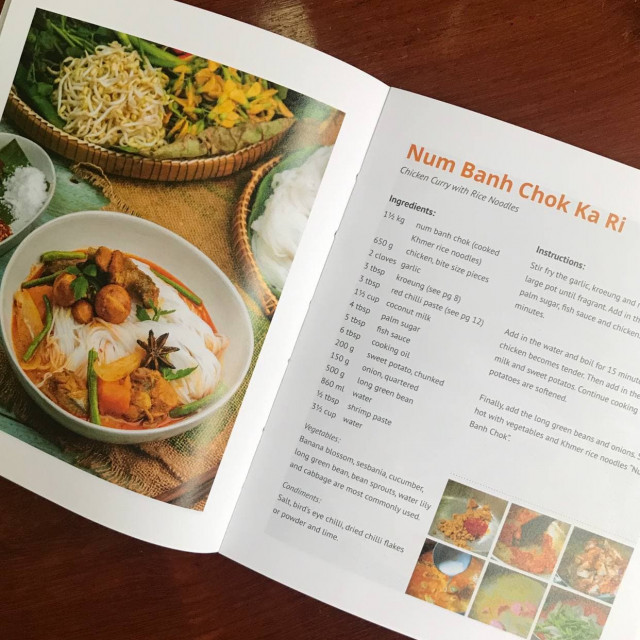 How to Make Num Banh Chok Ka Ri/ Chicken Curry with Rice Noodles