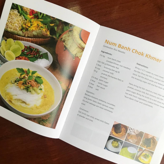 How to Make Num Banh Chok Khmer/ Khmer Rice Noodles