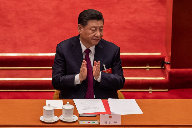 Xi lauds 'new horizon' for humanity in space chat with astronauts