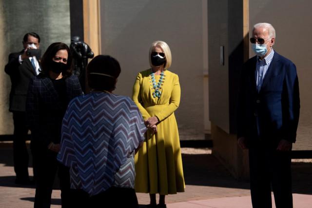 Biden names widow of Republican McCain as envoy to UN agency
