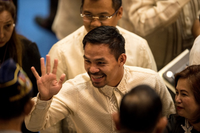 President Pacquiao? King of the ring mulls Philippines' top job
