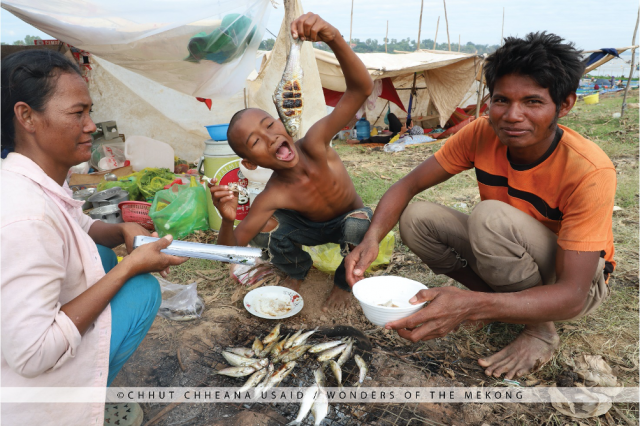 By the Numbers: How Cambodian People Rely on Fish