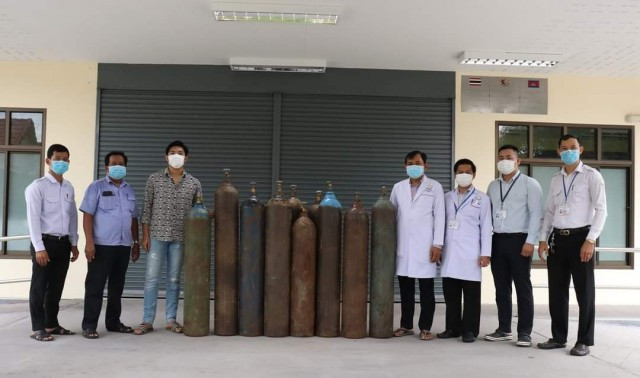 Koh Kong Authorities Call for Oxygen Tanks