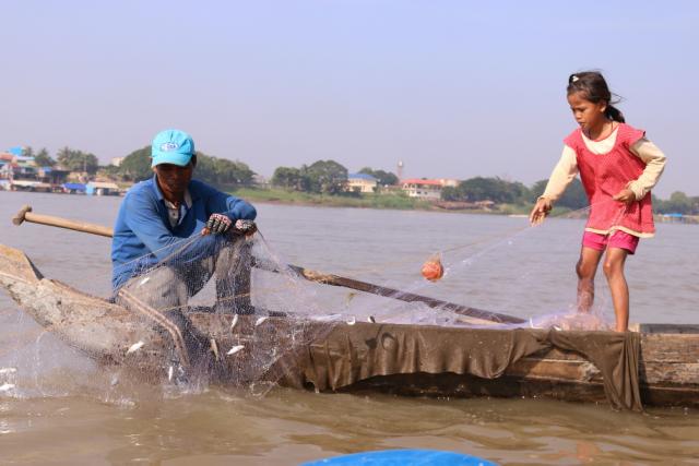 Cambodian Children Help Support Their Families