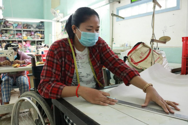 Disabled People Lose Income as Bag Sales Drop