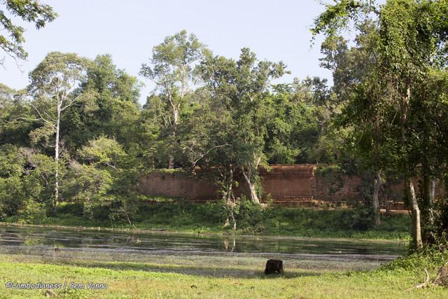The Enclosure Wall of Angkor Thom