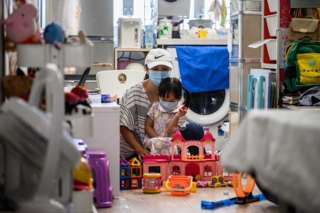 Pandemic and politics leaves Hong Kong's poor languishing