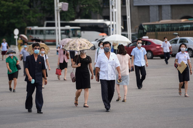 North Korea's capital swelters in heatwave