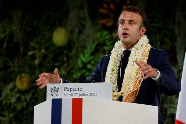 France owes French Polynesia 'a debt' over nuclear tests: Macron