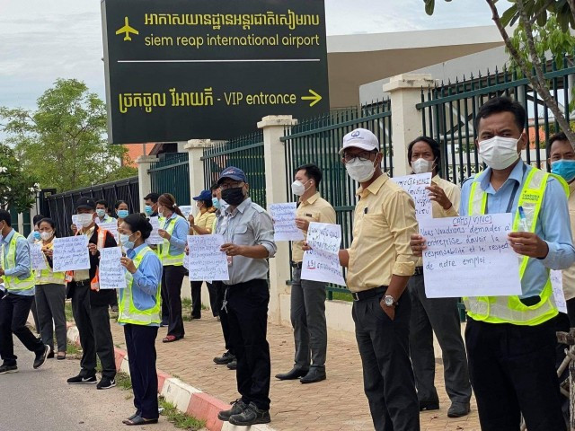 Unions Sue Cambodia Airports over Unfair Dismissals and Union-Busting