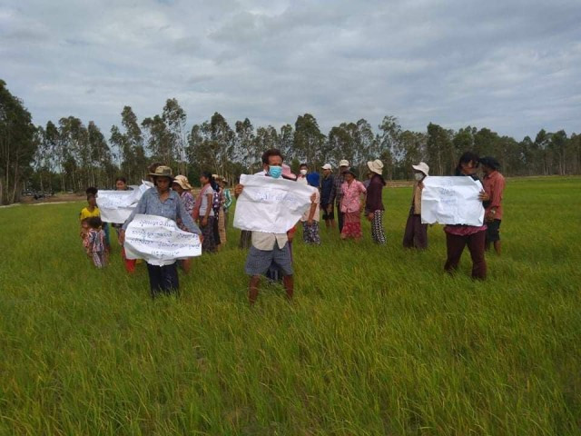 Farmers Resist Lowly Land Compensation Offer