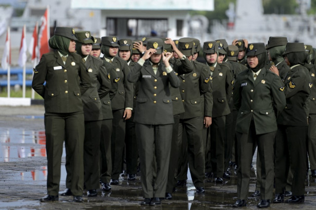 Indonesian army scraps 'virginity tests' on female cadets