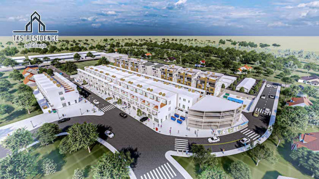 """Affordable Modern Lifestyle Housing Project """"TKS RESIDENCE"""" Launched in Pochentong"""