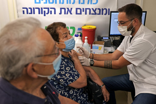Israel begins Covid booster shots for over 50s