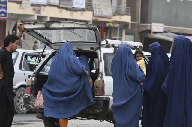 Taliban imposing 'horrifying' curbs on Afghan women's rights: UN