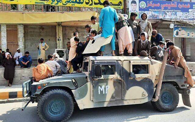 Taliban in control of Afghanistan, panic in Kabul
