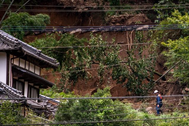 Japan braces for more rain after floods, landslides