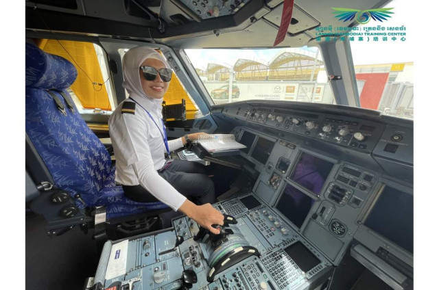 First Cambodian-Muslim Woman to Become an Aircraft Engineer