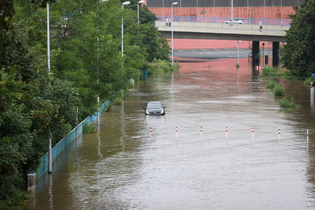 Climate change made Europe floods more likely, intense: study