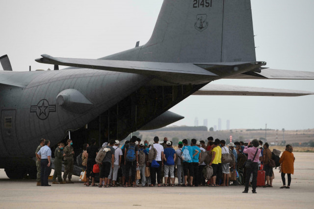 Massive airlift evacuates 112,000 people from Kabul