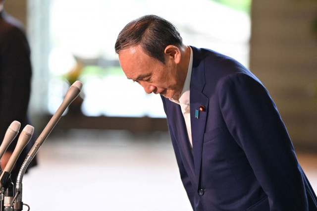 Japan PM Suga won't seek re-election after year in office